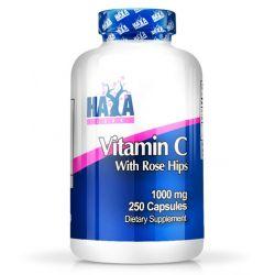 Vitamina C con Escaramujos de Alto Grado 1000mg - 250 cápsulas