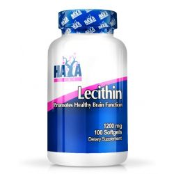 Lecitina 1200 mg - 100 softgels [Haya Labs]