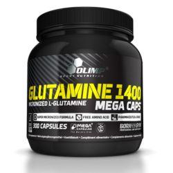 Glutamina 1400 mg - 300 mega cápsulas