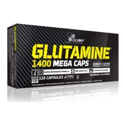 Glutamina 1400 mg - 120 mega cápsulas