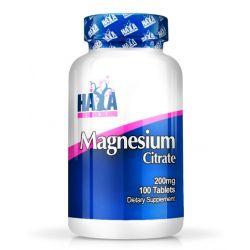 Citrato de Magnesio 200mg - 100 tabletas [Haya LAbs]