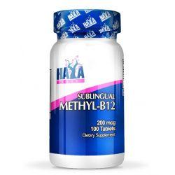 Methil-B12 200mcg - 100 tabletas [Haya Labs]