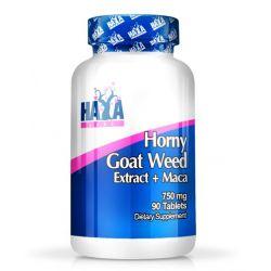 Horny Goat Weed + Maca 750mg - 90 tabletas [Haya Labs]