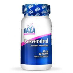 Resveratrol 40mg - 60 tabletas [Haya Labs]