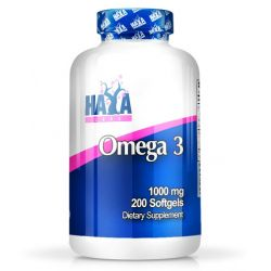 Omega 3 1000mg - 200 softgels [Haya LAbs]