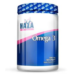 Omega 3 1000mg - 500 softgels [haya labs]