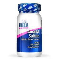 Sulfato de Vanadio 10mg - 100 tabletas [haya labs]