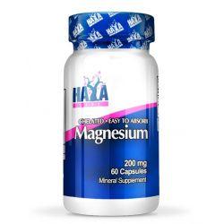 Magnesio 200mg - 60 cápsulas [haya labs]