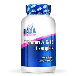 Complejo de Vitamina A y D - 100 softgels [haya labs]
