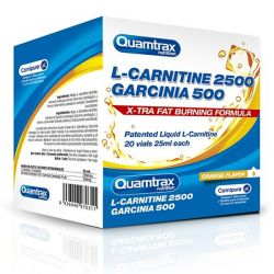 L-Carnitina 2500 + Garcinia 500 - 20 viales