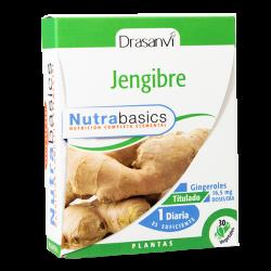 Jengibre - 30 cápsulas vegetales [drasanvi]