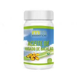 Aceite de Higado de Bacalao 500mg - 50 softgels [MM Essence]