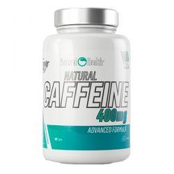 Cafeina Natural 400mg - 90 cápsulas [Natural Health]