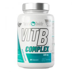 Complejo de Vitamina B 500mg - 60 cápsulas [Natural Health]