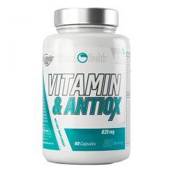 Vitaminas y Antioxidantes 820mg - 60 cápsulas [Natural Health]