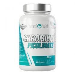 Picolinato de Cromo 600mg - 60 cápsulas [Natural Health]