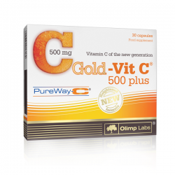 Gold-Vit C 500 Plus - 30 cápsulas [Olimp Sport]
