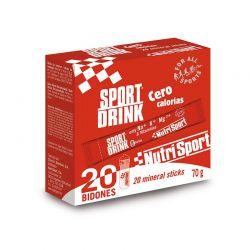 Sport drink cero calorias - 20 sticks [Nutrisport]