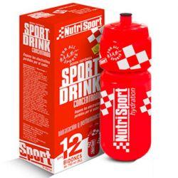 Sport drink concentrado 12 Bidones - 41ml + Bidón [Nutrisport]