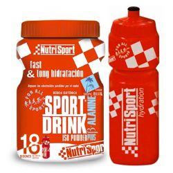 Sport drink iso powder plus b-alanina - 900g + bidón [Nutrisport]