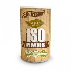 Vegan iso powder - 490g [Nutrisport]