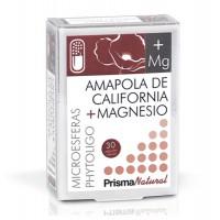Amapola de California + Magnesio - 30 cápsulas [Prisma]