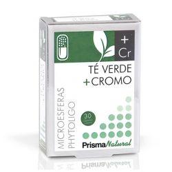 Té Verde + cromo - 30 cápsulas [Prisma]