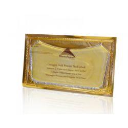 Mascarilla de cuello con Colágeno Polvo de Oro [Prisma]