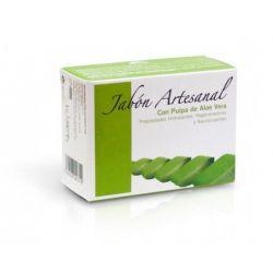 Jabón artesanal de aloe vera - 100g [Prisma]