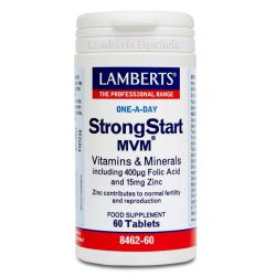 StrongStart MVM - 60 Tabletas [Lamberts]