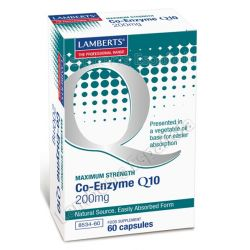 Co-Enzyme Q10 200mg - 60 Caps