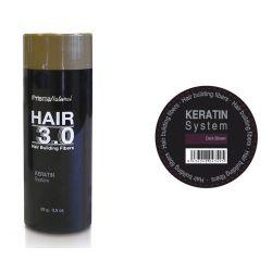 Hair 3.0 buildiing fibers dark brown
