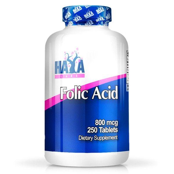 Ácido Fólico 800 mcg - 200 tabletas