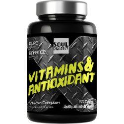 Vitaminas y antioxidante - 100 Cápsulas [Soulproject]