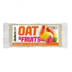 Oat & fruits - 70g [Biotechusa]