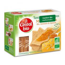 Tostadas Crackers Multicereales - 145g [cerealbio]