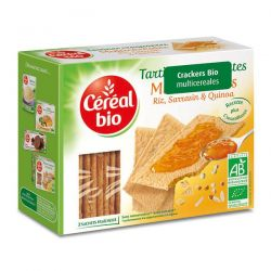 Tostadas Crackers Multicereales - 145g [cerealbio]
