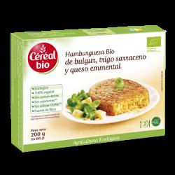 Hamburguesa vegetal de trigo sarraceno y bulgur - 200g [Cerealbio]