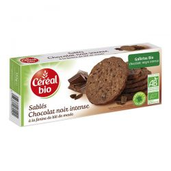 Galletas integrales de chocolate - 132g [cerealbio]