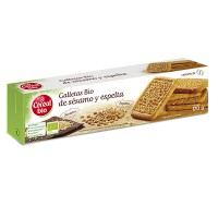 Galletas integrales de arroz y coco - 130g [cerealbio]