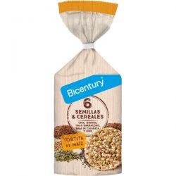 Tortitas de Maíz con Semillas y Cereales - 120g [Bicentury]