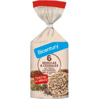 Tortitas de Arroz con Semillas y Cereales - 112g [Bicentury]