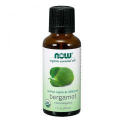 Bergamota Orgánica 100% puro - 30ml [now foods]