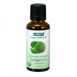 Bergamota Orgánica 100% puro - 30ml [now foods]