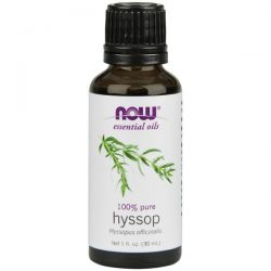 Aceite de hisopo 100% Puro - 30 ml [now foods]