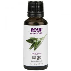 Aceite de Salvia 100% Puro - 30 ml [now foods]