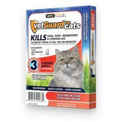 VetGuard para Gatos (vetiq) - Suministro para 3 meses [vetiq]
