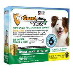 Vetguard plus for medium dogs (vetiq) - 6 month supply