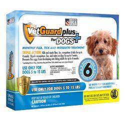 VetGuard Plus para Perros PEqueños (Vetiq) - Suministro para 6 meses [vetiq]