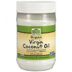 Aceite de coco virgen orgánico - 355ml [now foods]